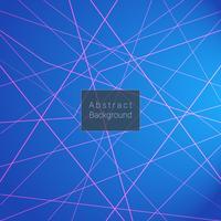 Abstracte blauwe gradiënt met gekruiste lijnen vector