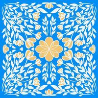 abstracte illustratie textuur mandala vector Gelukkig