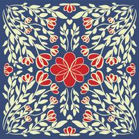 abstracte illustratie textuur mandala vector
