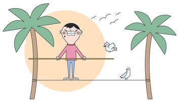 equilibrist vector