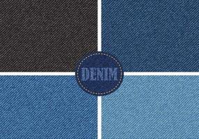 Denim Textuur Vector Pack