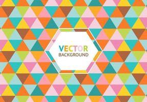 Kleurrijke Driehoek Achtergrond Vector
