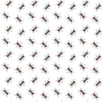 Mieren vector naadloze patroon voor textielontwerp, behang, inpakpapier