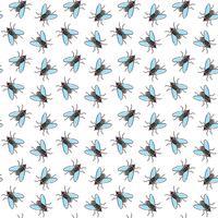 Vlieg vector naadloos patroon voor textielontwerp, behang, verpakkend document
