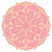 Mandala. Oosters decoratief element. Islam, Arabisch, Indiaas, Ottomaanse motieven.