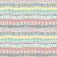 Etnische tribale feestelijke patroon voor textiel, behang, scrapbooking. vector