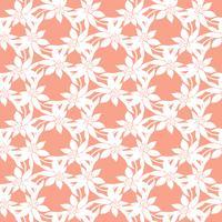 Naadloos kleurrijk vectorpatroon met de lentebloemen Bloemenklomp. Vector bloemenpatroon. Kleurrijke bloemenachtergrond. Floral elementen. Textiel bloemmotief. Lente achtergrond.