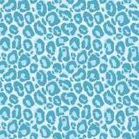 Vector naadloos patroon met luipaardbonttextuur. Herhalende luipaard vacht achtergrond