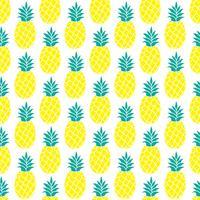 Ananas naadloze patroon voor scrapbooking, textielontwerp, inpakpapier vector