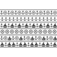 Mariene naadloos patroon. Geschikt voor behang, papier, decoratie. vector