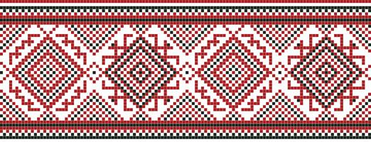 Vectorillustratie van Oekraïens naadloos ornament. Voor behang, textiel, kaarten