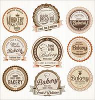 bakkerij retro labels