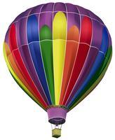 Heteluchtballon vector