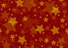 Sterren textuur over rood