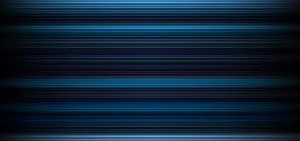 Abstracte donkerblauwe achtergrond met horizontaal licht en lijnenpatroonbehang.