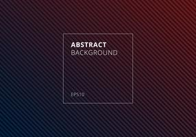Abstract blauw en rood gestreept lijnen diagonaal patroon op donkere achtergrond en textuur. vector