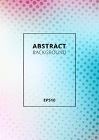 Abstracte vlotte vage pastelkleurgradiëntachtergrond met halftone textuur. U kunt gebruiken voor dekking brochure, poster, folder, flyer, presentatie, banner web, etc.