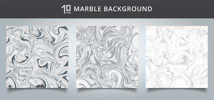 Sjabloondekking vastgestelde grijze en witte marmeren textuur als achtergrond.