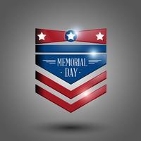 Memorial day-symbool vector