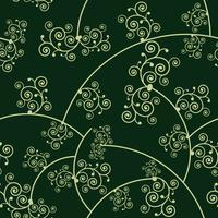 bloemmotief achtergrond, vector illustratie.