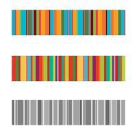 verticale kleurrijke strepen abstracte achtergrond, uitgerekte pixels