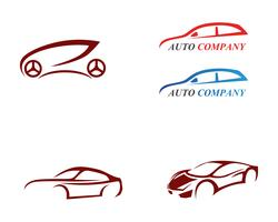 Auto logo sjabloon vector pictogram