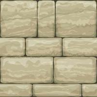 Naadloze textuur van oude steen vector