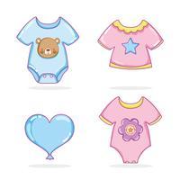 Schattige babykleding