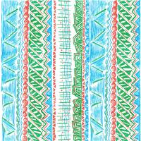 Vector Afrikaans patroon