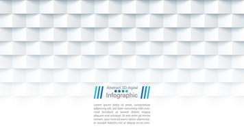 Abstract papieren sjabloon - origami stijl