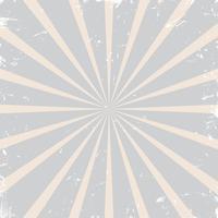 Vintage grunge rijzende zon, sunburst patroon vector