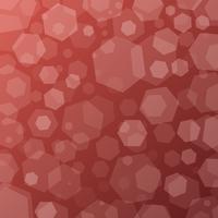 Geometrische abstracte techno achtergrond met zeshoeken