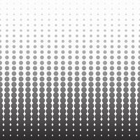Halftone zwart-wit patroon verticale achtergrond