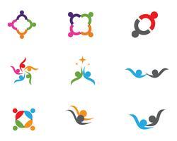 gemeenschapszorg Logo sjabloon vector