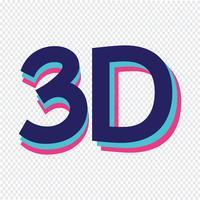 3D pictogram symbool teken