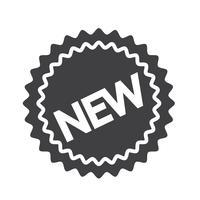 nieuw pictogram symbool teken