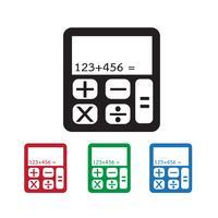 rekenmachine pictogram symbool teken