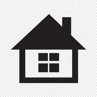 home pictogram symbool teken