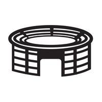 Stadion pictogram symbool teken