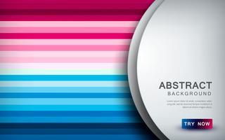 Samenvatting gekleurde achtergrond met witte overlappingslaag en textuurvormdecoratie