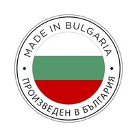 Gemaakt in Bulgarije vlagpictogram.