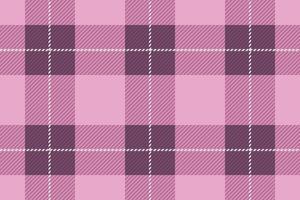 Naadloze geruit Schots wollen stof, vectorillustratie. vector