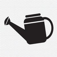 Gieter pictogram symbool illustratie