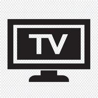 tv pictogram ontwerp illustratie