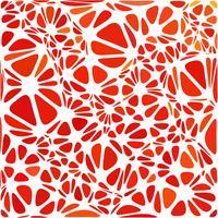 Rode moderne stijl, creatieve ontwerpsjablonen