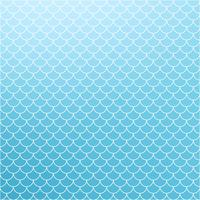 Blue Roof-tegelspatroon, Creatieve Ontwerpmalplaatjes