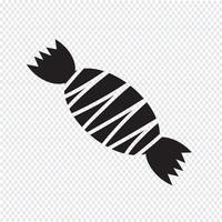 snoep pictogram symbool teken