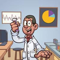 Wetenschapper in het laboratorium