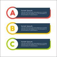 Kleurrijke mimimalistische vector png banners