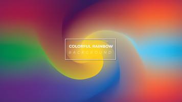 Kleurrijke regenboog stijl achtergrond vector